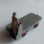 DINKY TOYS B.E.V. Truck vintage meccano made in england diecast model 1948-54 @sold@